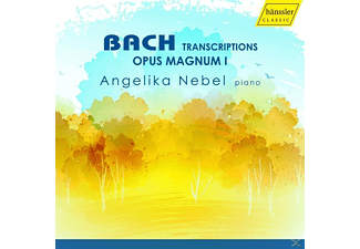 Angelika Nebel - Bach Transcriptions: Opus Magnum 1 - (CD)