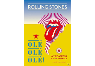 The Rolling Stones - Ole Ole Ole!-A Trip Across Latin America (DVD) - (DVD)