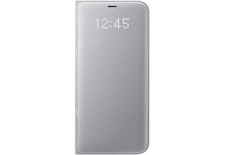 SAMSUNG LED View Cover för Galaxy S8 Plus - Silver