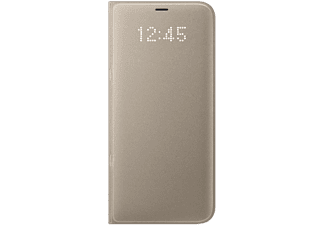 SAMSUNG LED View Cover för Galaxy S8 Plus - Guld