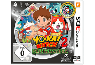 Yo-Kai Watch 2 - Knochige Gespenster (+ Medaille) [Nintendo 3DS]