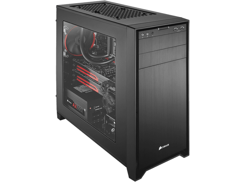 CORSAIR Obsidian Series 350D Windowed Micro ATX PC Case laptop  tablet  computing  αναβάθμιση υπολογιστή κουτιά η υ