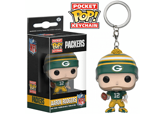 Pocket POP! Keychain: NFL: Aaron Rodgers Packers
