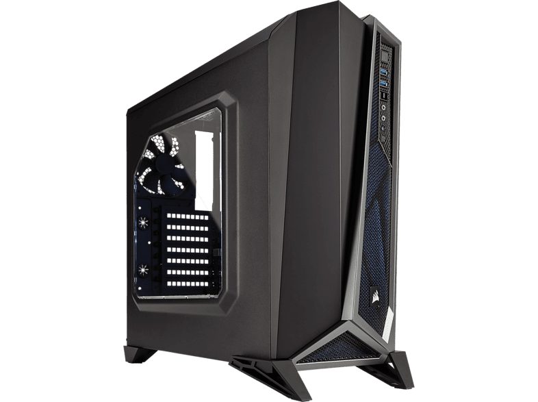 CORSAIR 315418 CASE CARBIDE SERIES SPEC-ALPHA BLK SLV laptop  tablet  computing  αναβάθμιση υπολογιστή κουτιά η υ