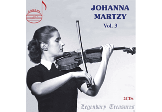 Johanna Martzy, VARIOUS - Legandary Treasures-Johanna Martzy Vol.3 - (CD)