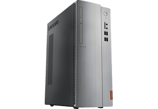 LENOVO IdeaCentre 510, PC Desktop mit Bristol Ridge A10 Prozessor, 8 GB RAM, 2 TB HDD, HD Grafik