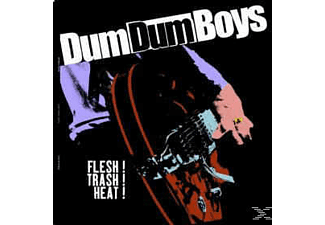 Dum Dum Boys - Flesh! Trash! Heat! - (Vinyl)