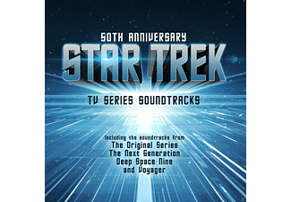 Star Trek - 50 Anniversary-TV Series Soundtracks inkl.Buch - (Vinyl)