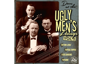 VARIOUS - Down At The Ugly Men's Lounge Vol.2 (10inch+CD) - (LP + Bonus-CD)