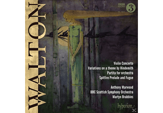 Anthony Marwood & Bbc Scottish Symp - Violinkonzert in h-moll/Partita für Orchester/+ - (CD)