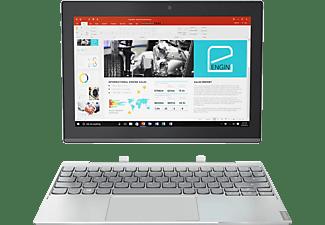 LENOVO Miix 320, Convertible mit 10.1 Zoll, 64 GB Speicher, 2 GB RAM, Atom™ Prozessor, Windows 10, Platin Silber