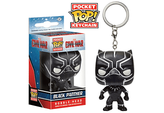 Pocket POP! Keychain: Captain Am. - Black Panther