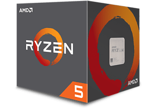 AMD Ryzen 5 1600, 6x 3.2 GHz Six-Core Processor (YD1600BBAEBOX)