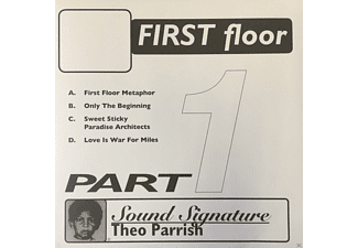 Theo Parrish - First Floor Pt.1 (2LP Re-issue) - (Vinyl)