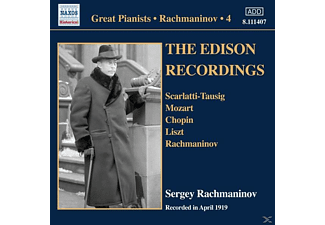 Sergei Vasilievich Rachmaninoff - The Edison Recordings - (CD)