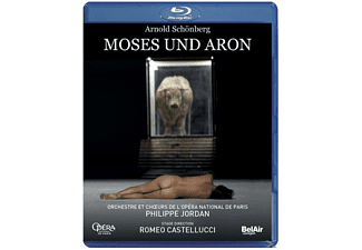 Philippe/l'opera National De Paris Jordan - Moses und Aron - (Blu-ray)