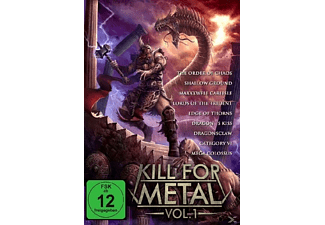 VARIOUS - Kill For Metal Vol.1 - (DVD)