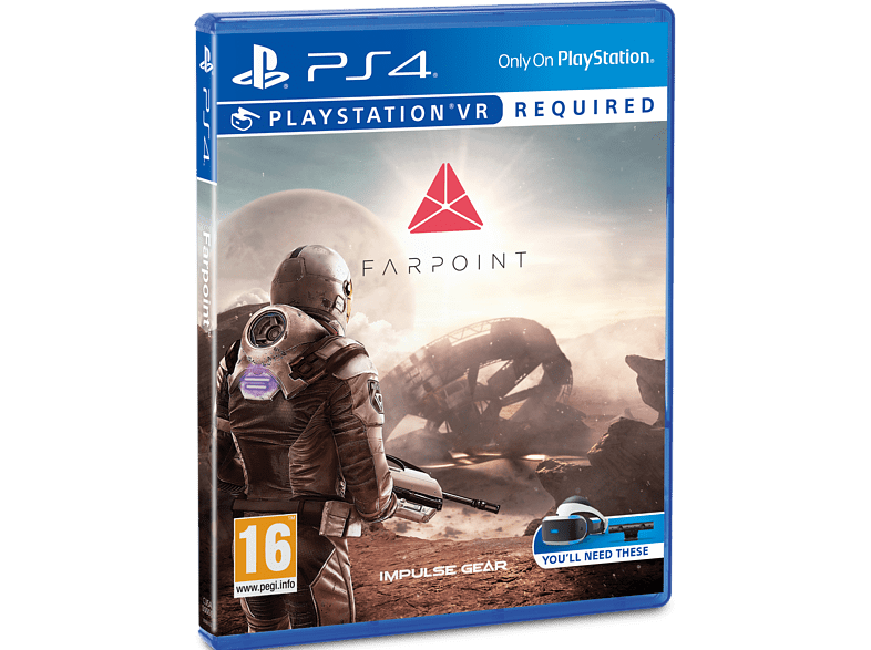 Farpoint VR PS4 gaming games ps4 games