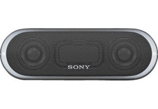 SONY SRS-XB 20, Bluetooth Lautsprecher, Near Field Communication, Wasserfest, Schwarz