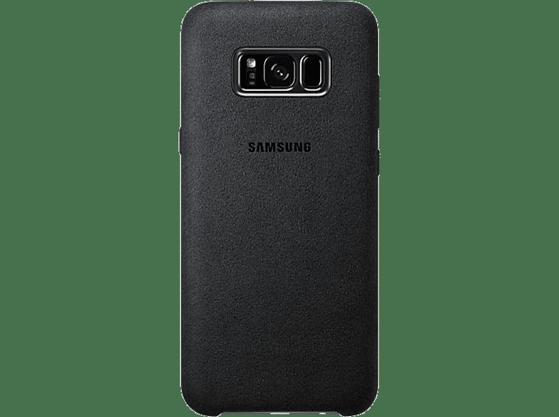 SAMSUNG Alcantara Cover Black - (EF-XG955ASEGWW) smartphones   smartliving αξεσουάρ κινητών θήκες  μεμβράνες samsung