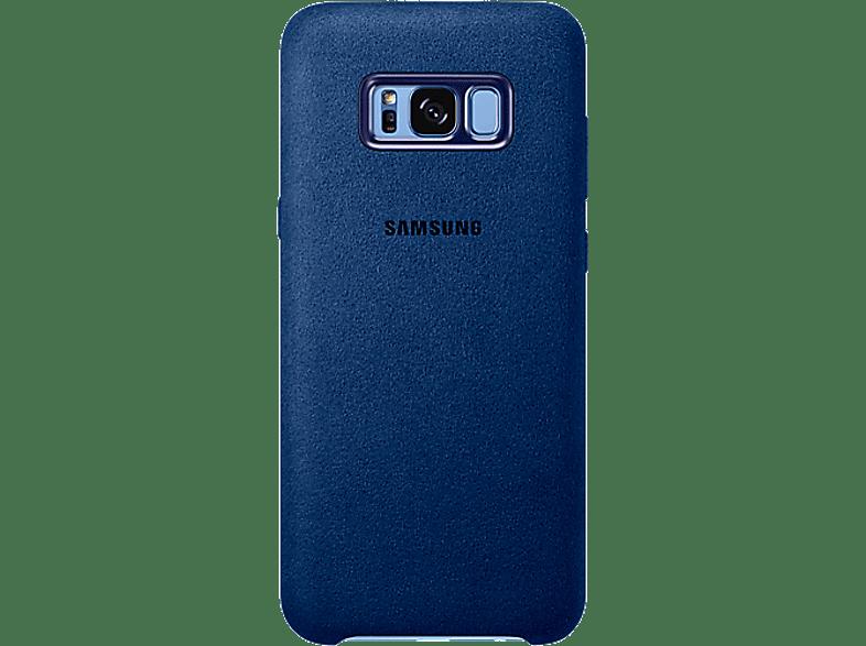 SAMSUNG Alcantara Cover Blue - (EF-XG955ALEGWW) smartphones   smartliving αξεσουάρ κινητών θήκες  μεμβράνες samsung