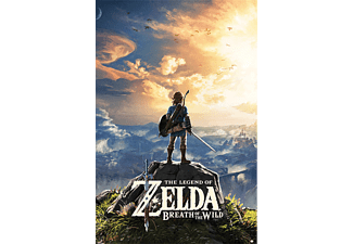 The Legend of Zelda Poster: Breath Of The Wild Sunset
