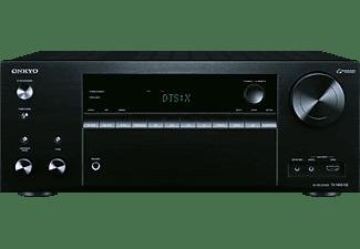 ONKYO TX-NR676E, AV-Receiver, Phono-Eingang, Schwarz