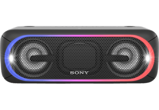 SONY SRS-XB 40 B, Bluetooth Lautsprecher, Near Field Communication, Schwarz