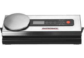 GASTROBACK 46012 Advanced Scale Design, Vakuumierer mit Digitalwaage
