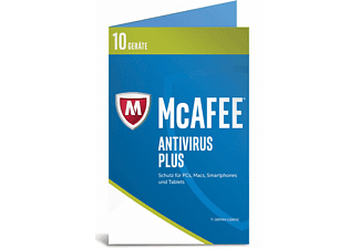 McAfee 2017 AntiVirus Plus 10 Geräte (Bi-fold) (Code in a Box)