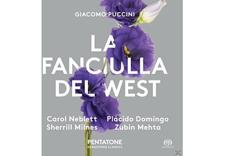 Neblett/Domingo/Milnes/Mehta/Royal Opera House - La Fanciulla del West - (SACD Hybrid)