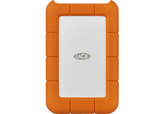 LACIE Rugged, 4 TB, Orange, Externe Festplatte, 2.5 Zoll