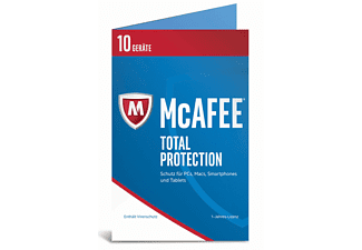 McAfee 2017 Total Protection 10 Device (Bi-fold) (Code in a Box)