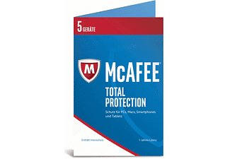 McAfee 2017 Total Protection 5 Device (Bi-fold) (Code in a Box)