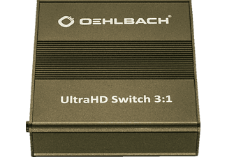 OEHLBACH 6045 ULTRAHD SWITCH 3:1 HDMI Splitter