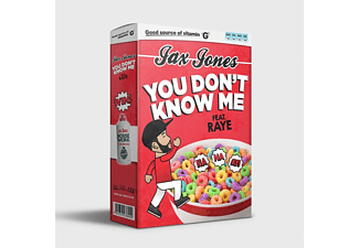 Jax Jones - You Don't Know Me (2-Tack) - (5 Zoll Single CD (2-Track))