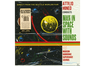 Attilio Mineo - Man In Space With Sounds (LP) - (Vinyl)