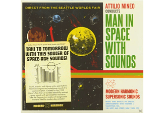 Attilio Mineo - Man In Space With Sounds (CD) - (CD)