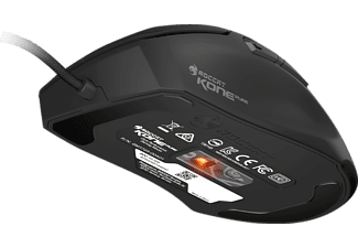 ROCCAT ROCCAT ROC-11-725 Kone Pure - Optical Owl-Eye Core Performance RGB Gaming Mouse, Gaming Mouse, kabelgebunden, Schwarz