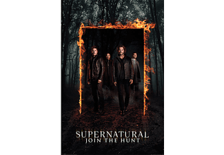 Supernatural Poster Burning Gate