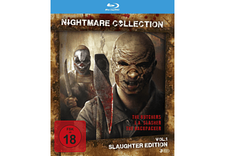 Nightmare Collection 1 (Slaughter Edition) - (Blu-ray)