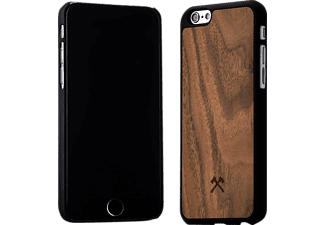 WOODCESSORIES ECO028 EcoCase Calvin, Apple, Backcover, iPhone 6, iPhone 6s, Echtholz/Polycarbonat, Walnuss