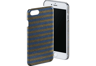 HAMA Glamour Stripes iPhone 6, iPhone 6s, iPhone 7 Handyhülle, Bronze