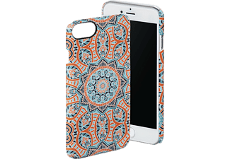 HAMA Mandala iPhone 6, iPhone 6s, iPhone 7 Handyhülle, Blau/Orange