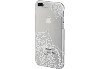 HAMA Lotus iPhone 6, iPhone 6s, iPhone 7 Plus Handyhülle, Transparent/Weiß