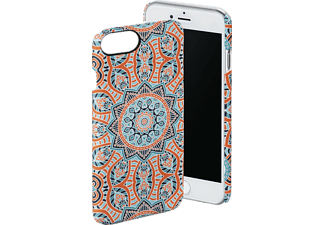 HAMA Mandala iPhone 6 Plus, iPhone 6s Plus, iPhone 7 Plus Handyhülle, Blau/Orange