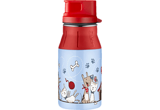 ALFI 5377.166.040 elementBottle II Cat and Dog, Trinkflasche