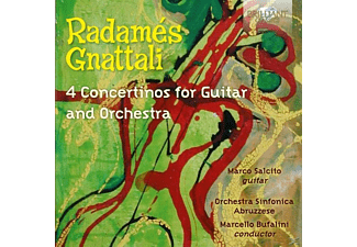 Orchestra Sinfonica Abruzzese, Colageo, Salcito - 4 Concertinos For Guitar And Orchestra - (CD)