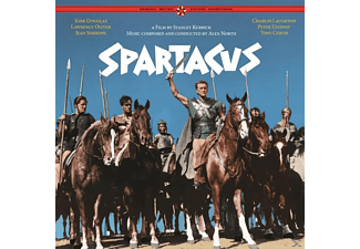 North Alex - SPARTACUS-THE COMPLETE ORIGINAL SOUNDTRACK - (Vinyl)