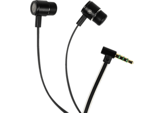 VIVANCO TRAVELLER 40, In-ear Kopfhörer, Headsetfunktion, Schwarz